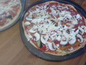 An x-large dough makes 2 large pizzas!